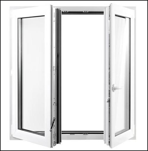 fenster stulpfenster 2flg 2000x1200 kunststofffenster drutex s a neu ebay. Black Bedroom Furniture Sets. Home Design Ideas